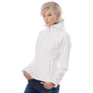 BCJW937 Hooded Softshell Women