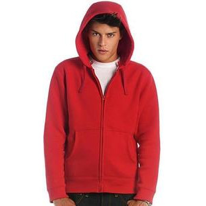 BCWM647 Hooded Full Zip Men's Sweatshirt