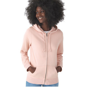 BCWW36B Organic Zipped Hood Women