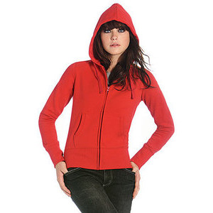 BCWW642 Hooded Full Zip Women