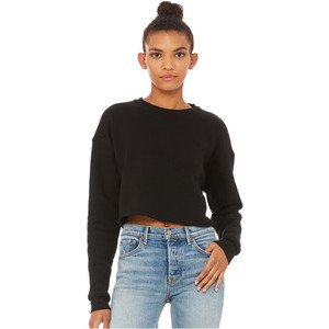 BE7503 Cropped Crew Fleece