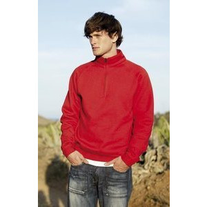 F62032 Sweatshirt with zip collar