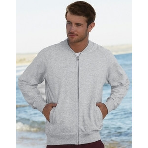 F62162 Lightweight Baseball Sweatshirt