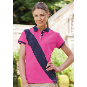 FR213 Polo Stripe Women