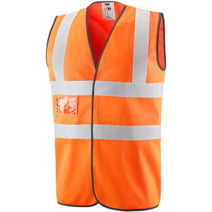GB422059 High visibility vest