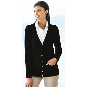 H723 Ladies' V Cardigan