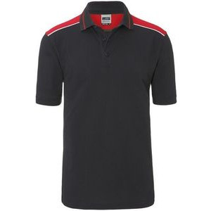 JN858 Men's Kontrast Polo