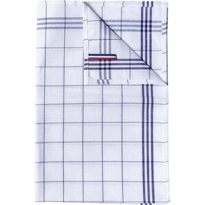 K136 Checked Glass Towel