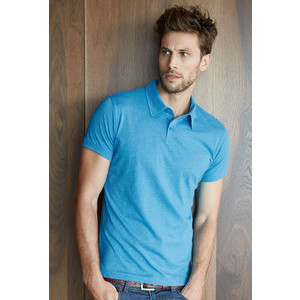 K207 Melange Men's Polo