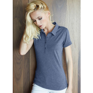 K208 Melange Women's Polo