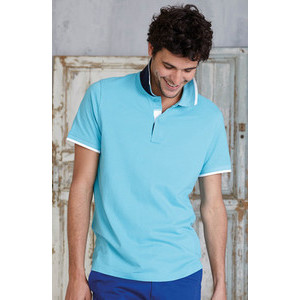 K245 Polo Contrast Men