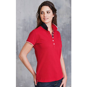 K252 Polo Contrast Women