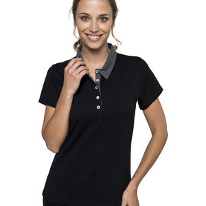 K261 Two-tone Women's Polo Jersey