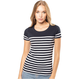K3034 Women'S Organic Sailor T