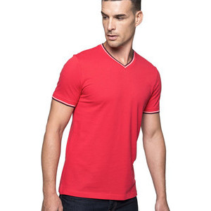 K374 Piqué Men's V-Neck T-Shirt