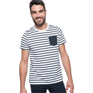 K378 Striped T-Shirt