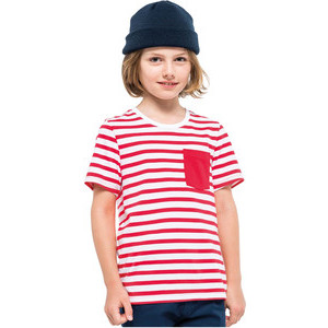 K379 Kids' Striped T-Shirt