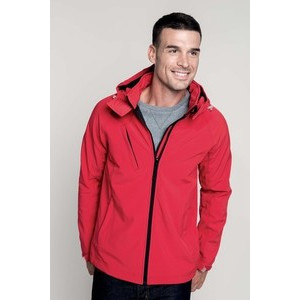 K413 Hooded Softshell Man