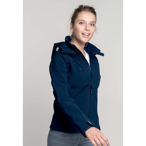 K414 Hooded Softshell Woman