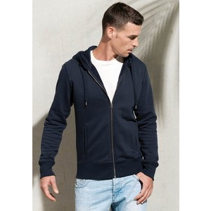 K484 Full Zip Organic Sweatshirt