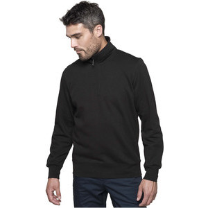 K487 Zipped Neck Sweatshirt