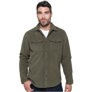 K582 Sherpa Fleece Overshirt