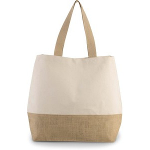 KI0235 Canvas And Jute Bag