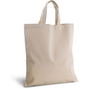 KI0249 Shopper In Canvas Manici Corti
