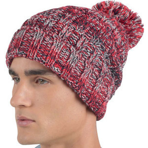 KP534 Cap With Pompoms