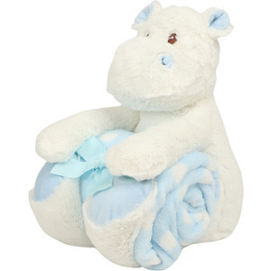 MM606 Hippo With Blanket