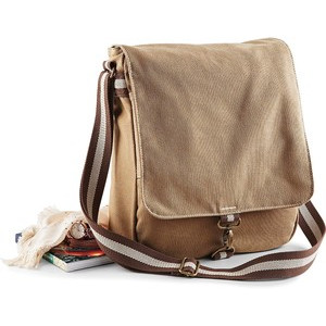 QD611 Vintage Canvas Messenger