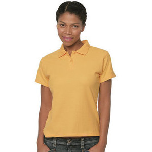 RU539F Polo in mist fabric