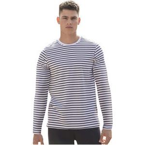 SFM204 Striped T-Shirt L/S
