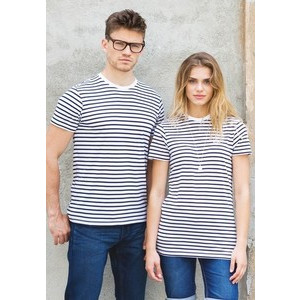 SKFM202 Unisex Striped T-shirt