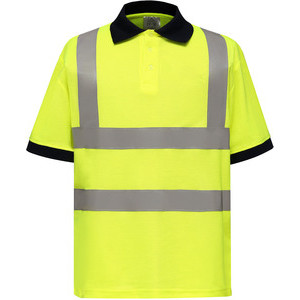 YHVJ210 High Visibility Polo Shirt