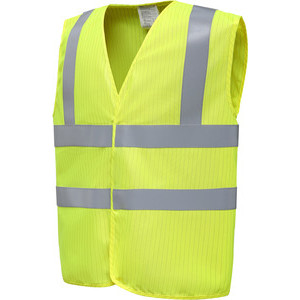 YHVW100ASFR Anti-Static And Flame Retardant Gilet