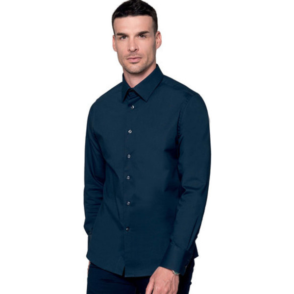 cf1f03b0fa Camicia Elasticizzata Uomo Kariban Camicie - K529 - Kariban ...
